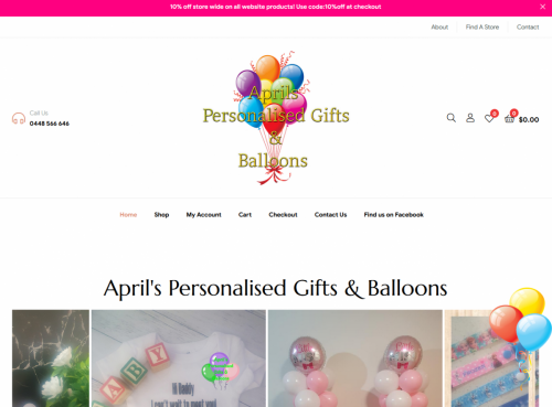 Aprils Personalised Gifts