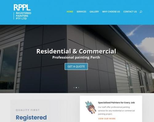Registered Painters Perth